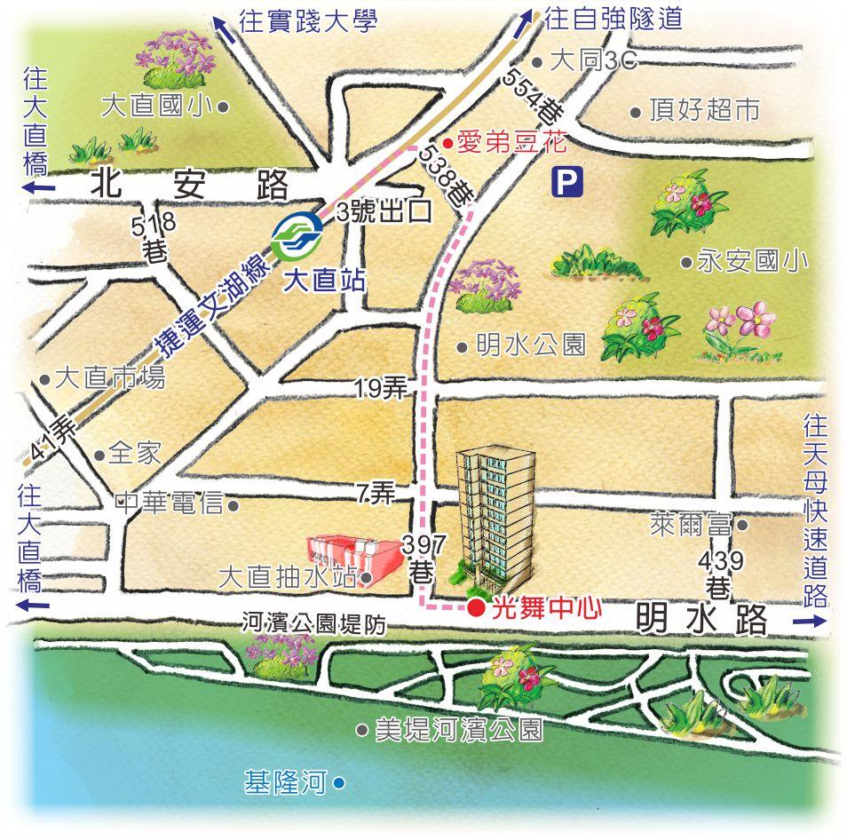 章丘市明水地图