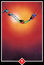 Zen Tarot Card